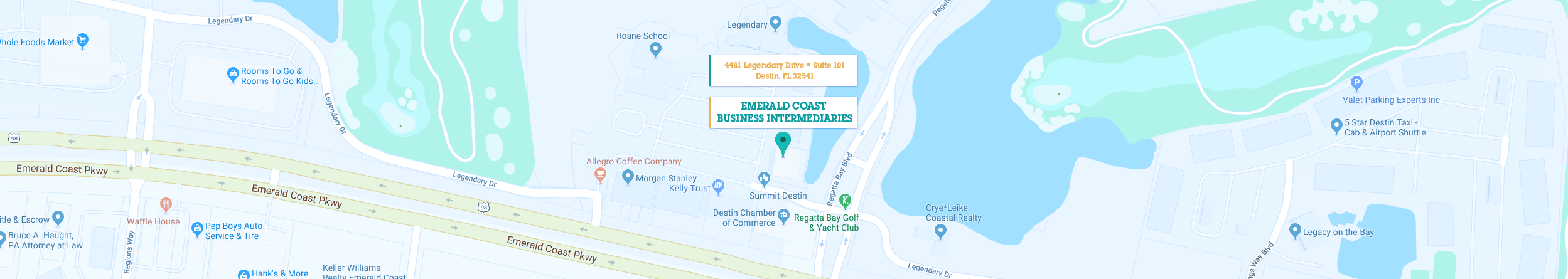 Emerald Coast Florida Map.Emerald Coast Business Brokers Llc The Business Owners Business